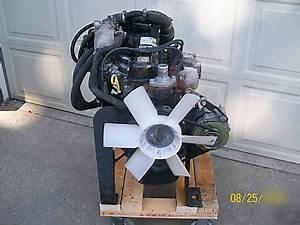 Powerboss Tennant Ford 1 3l 4cyl  Lp Industrial Engine