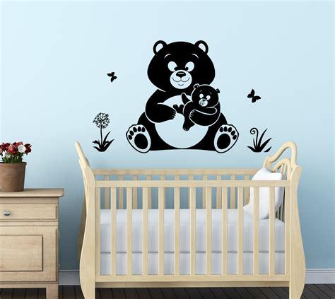 Wandtattoo Kinderzimmer Teddy by Streetwall Wandtattoo Teddy B 228 Ren Wandbild Aufkleber