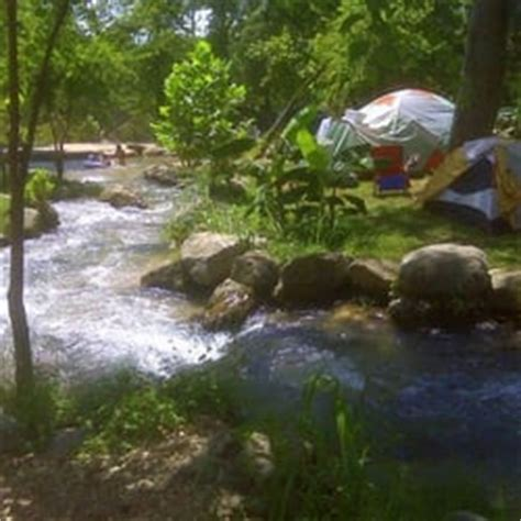 camp huaco springs campgrounds  braunfels tx