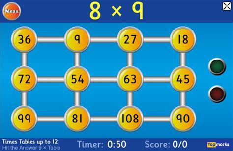 hit  button topmarks maths zone cool learning games