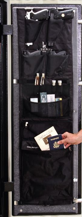 gun safe door organizer liberty door panel organizer 10584 for 17 18 wide gun safes