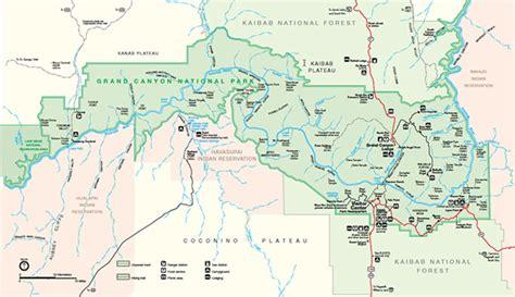 grand canyon landkarte kleve landkarte