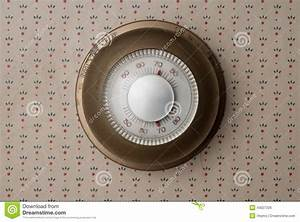 Old Thermostat Stock Photo  Image Of Color  Control