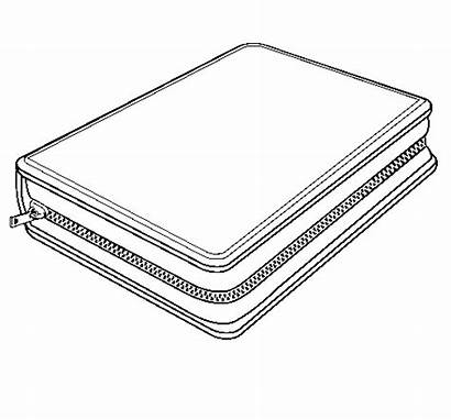 Pencil Case Coloring Pages Box Bbb Colored