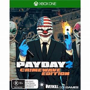 JB Hi Fi Payday 2 Crimewave Edition Xbox One