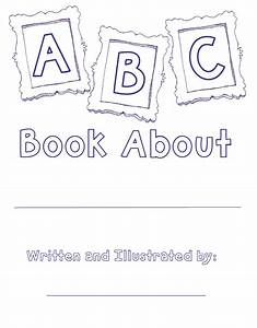 Coloring pages the lesson cloud alphabet book template for Printable alphabet book template