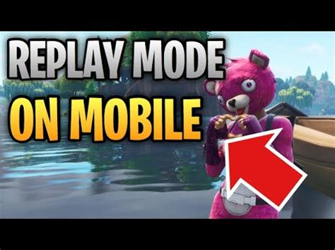 replay mode  alike  fortnite mobile