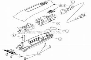 Andis Pmt2 Parts List And Diagram   Ereplacementparts Com