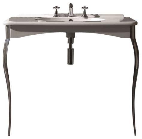 chrome legs for wall mount sink ws bath collections retro wall mount sink with legs with