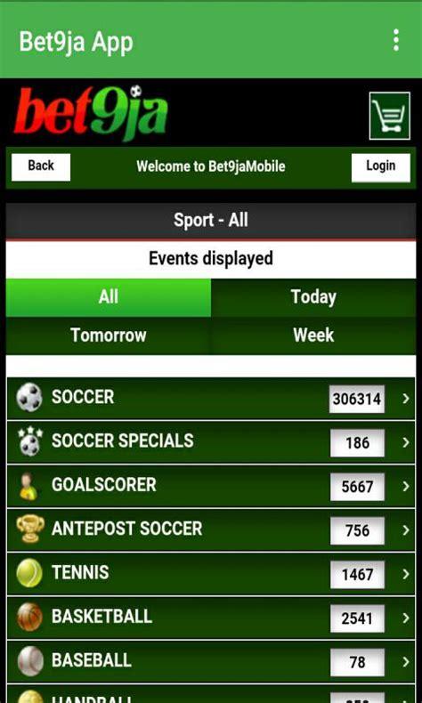 bet9ja mobile app apps betting phone getjar recommended bonus kenya