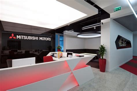 Mitsubishi Corporate Office by Rolf Mitsubishi Importers Moscow Offices Office Snapshots