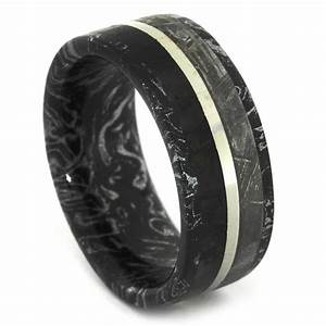 is a meteorite wedding band the ideal choice for a wedding With mens meteorite wedding ring