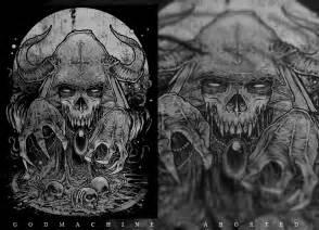 Eagles Album Artwork by Godmachine Aborted