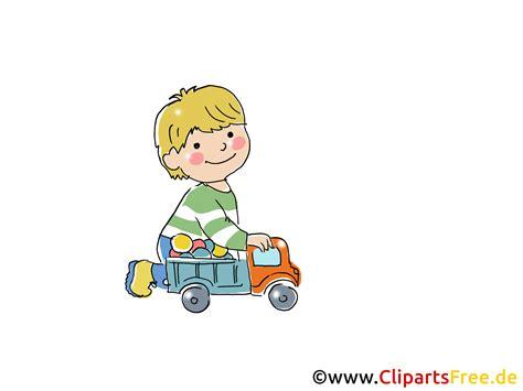 Spielendes Comic by Junge Spielt Mit Auto Bild Clipart Comic Gratis