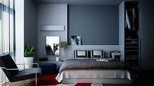 la chambre grise 40 idees pour la deco archzinefr With chambre grise et noire