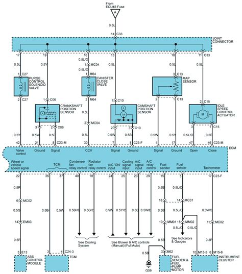Fuel System Wiring Diagram 2003 Hyundai Santum Fe by Repair Guides Fuel Systems 2004 Mfi System