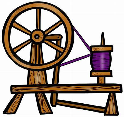 Spinning Wheel Sleeping Clipart Transparent Spindle Clip