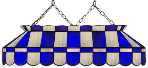 stained glass pool table light fixture blue gray 40 quot stained glass pool table light fixture