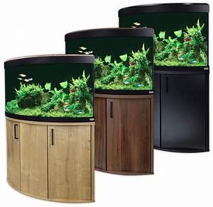 Aquarium Set Led : fluval venezia 190 led aquarium cabinet set corner oak ~ Watch28wear.com Haus und Dekorationen