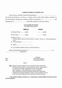 Hospital Medical Certificate Format Medical Certificate Format For Job Planner Template Free