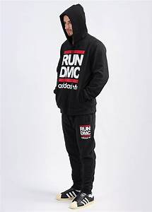 Adidas Originals x Run DMC Track Pants - Black