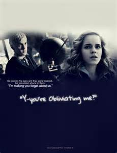 Does Draco Malfoy Love Hermione