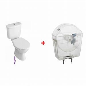 Pack Wc Sortie Verticale : r servoir wc conomie d 39 eau avec pack wc sortie verticale ~ Edinachiropracticcenter.com Idées de Décoration