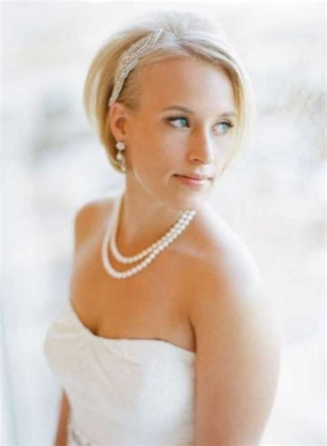 Wedding Hairstyles For Bob Hair by 15 Best Wedding Bob Hairstyles Bob Hairstyles 2018