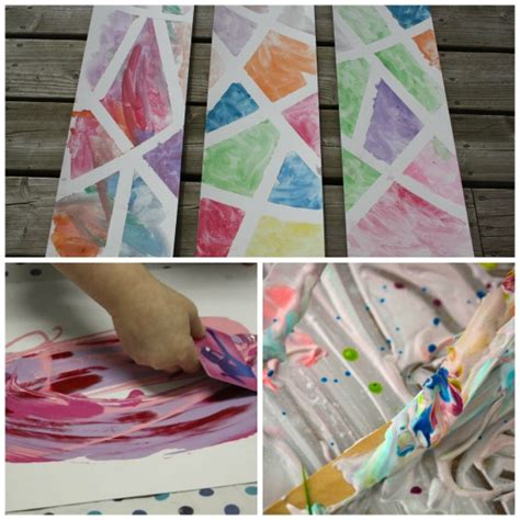 25 awesome projects for toddlers and preschoolers 707 | Art processes for preschoolers and toddlers