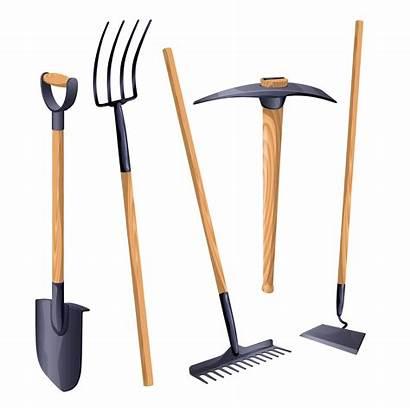 Tools Gardening Garden Equipment Landscaping Vector Asparagus