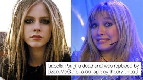 Avril Lavigne Meme - the avril lavigne conspiracy is now a meme and no one is safe popbuzz