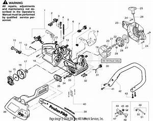 Poulan 2150 Chainsaw Parts Diagram