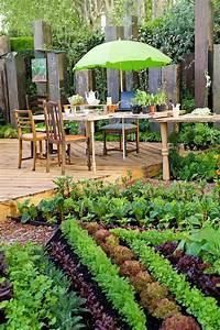 Creation Potager Surélevé : am nagement petit jardin des conseils astucieux pour le ~ Premium-room.com Idées de Décoration