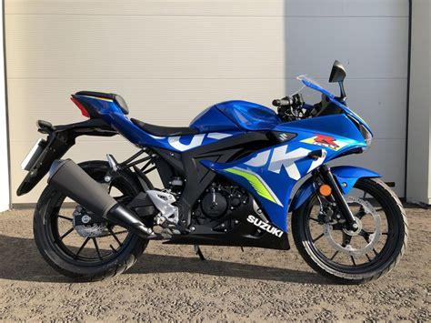 125cc Suzuki by Suzuki Gsx R125 125cc Sports Bike From Suzuki Available