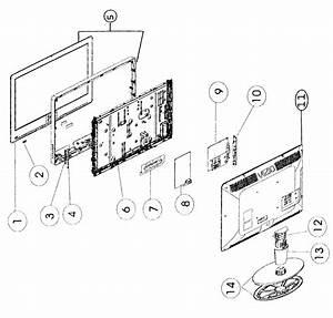 Vizio Va320e Lcd Television Parts