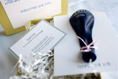 Non Traditional Baby Shower by Gus And Ruby Letterpress Oh So Beautiful Paper