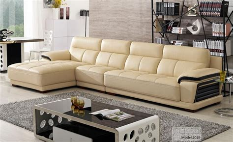 Free Shipping European Modern Leather Sectional Sofa