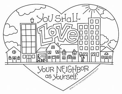 Coloring Commandment Greatest Bible Story Fall Children