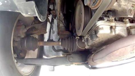 ford escape drivetrain  suspension noise  awd youtube