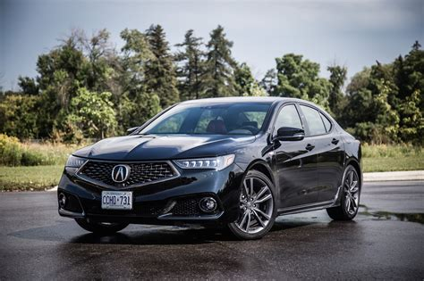 Review 2018 Acura Tlx Aspec  Canadian Auto Review