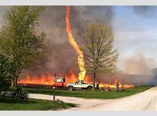 'Firenado' Wind Whips Up Wicked Whirl in Missouri Field