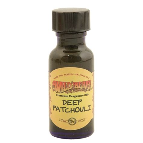 wildberry scented oil deep patchouli