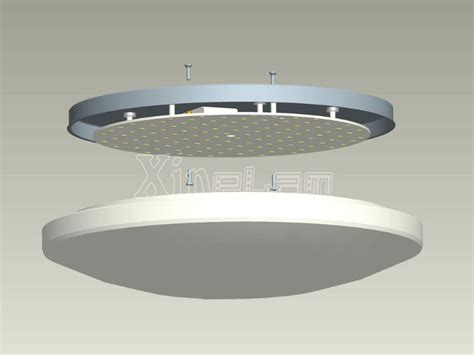 diy led ceiling light fixture inside led panel