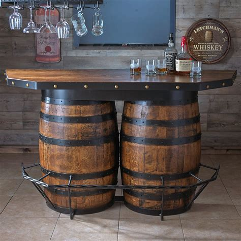 tennessee whiskey barrel bar barrels bar  men cave