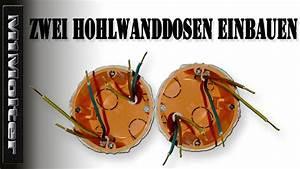 Bohrschablone Hohlwanddose Zum Ausdrucken : zwei hohlwanddosen einbauen hohlwanddose montage m1molter youtube ~ Heinz-duthel.com Haus und Dekorationen
