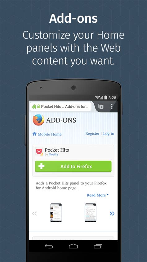 android firefox browser apps web mozilla google screenshot play fastest developer