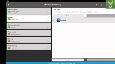 mcafee mobile security key mcafee mobile security android login