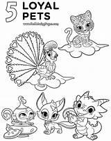 Shimmer Shine Coloring Printable Nick Jr Cartoon Pets Lizard Loyalty Leah Colorir Desenhos Sheets Printables Nora Loyal Kleuren Boek Bladzijden sketch template