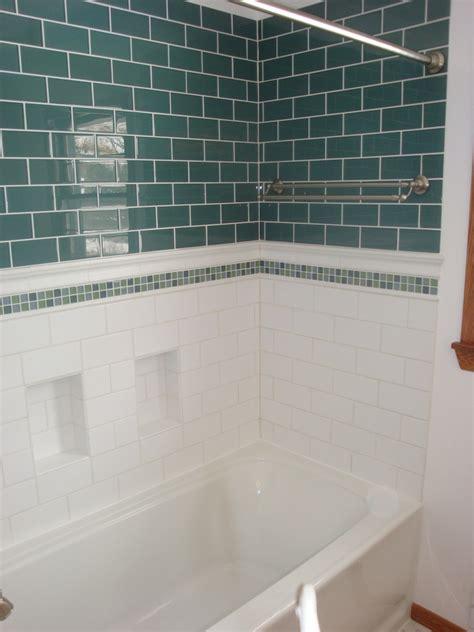 Glass Subway Tile Bathroom Ideas by Subway Tile Bathroom Home Design Ideas Bathroom Ideas Koonlo