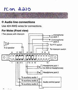 Icom A210 Wiring Diagram